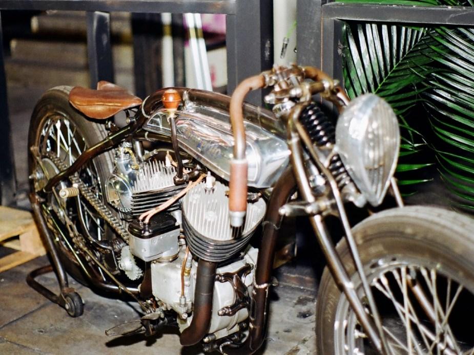 Harley-Davidson Flathead Custom
