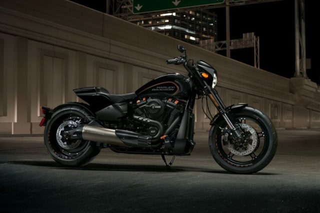 2019 Harley-Davidson FXDR 114 at Night
