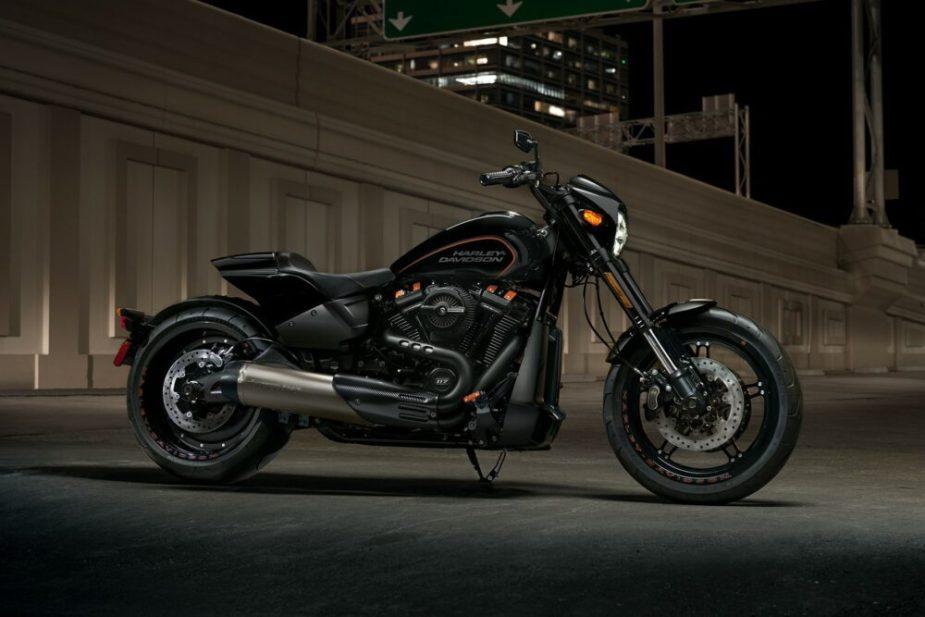 2019 Harley-Davidson FXDR 114 at Night