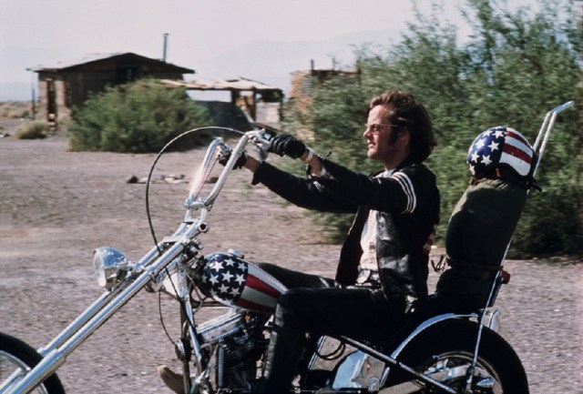Easy Rider Captain America chopper