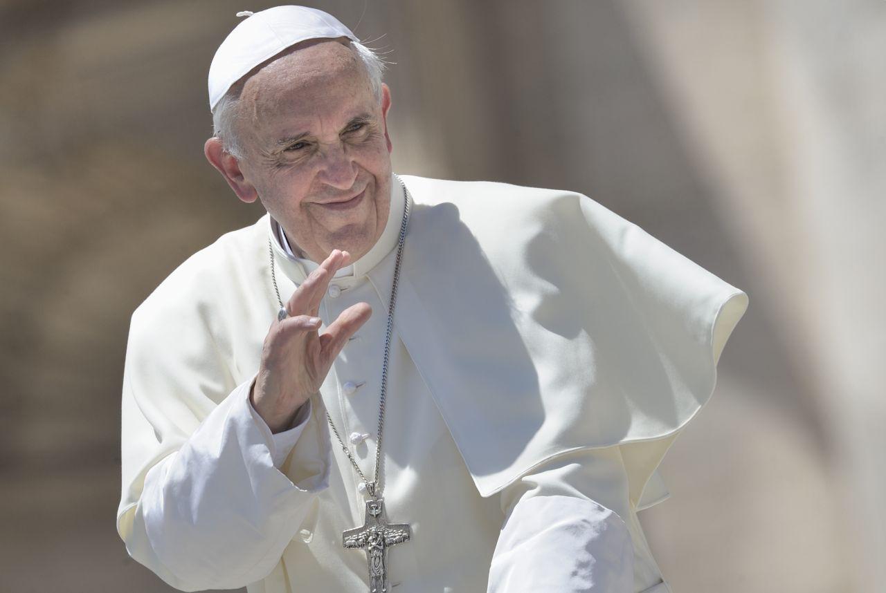 Lemo Objekt Foto Papst Franziskus