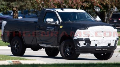 Photo of SPIED: 2019 Ram 2500 Big Horn Regular Cab On The Streets:
