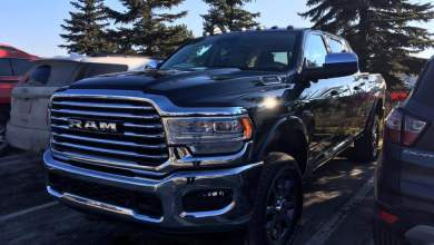 Photo of CAUGHT: 2019 Ram 2500 Heavy Duty Laramie Longhorn Mega Cab: