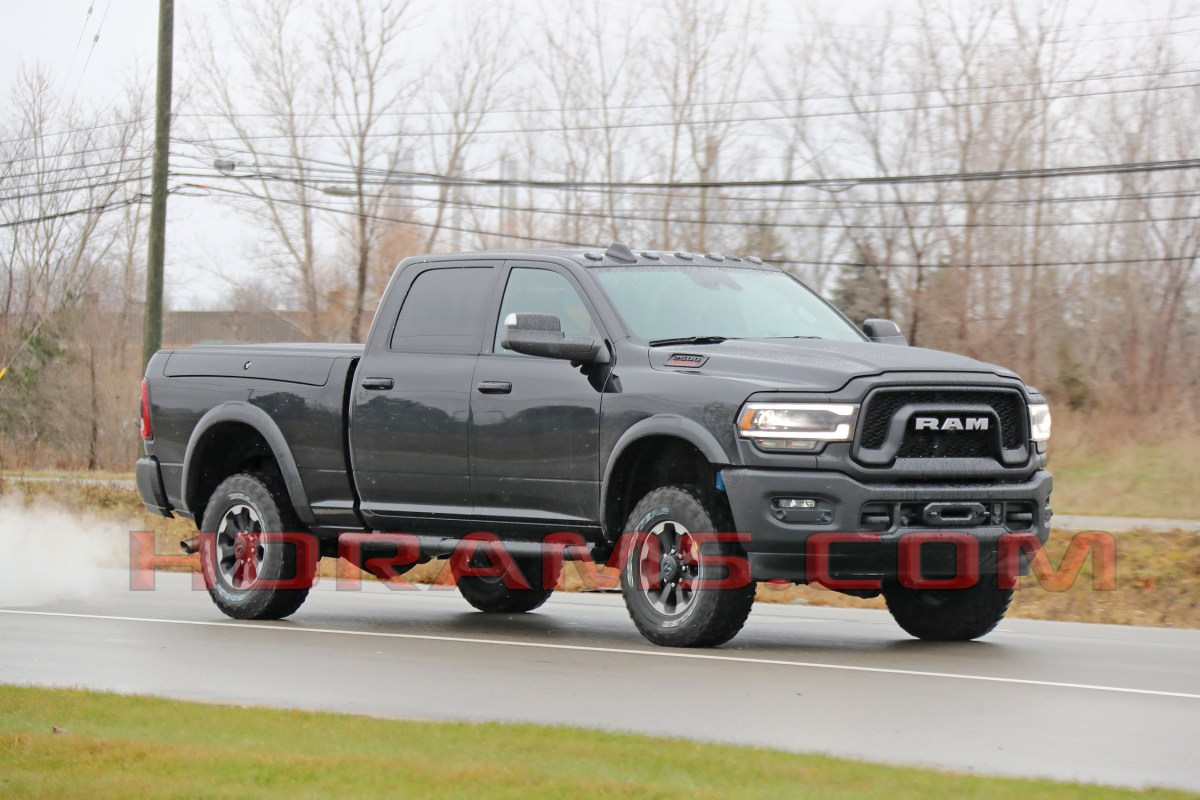 Here is the 2019 Ram 2500 Power Wagon!