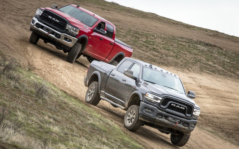 2019 Ram Power Wagon and Tradesman Power Wagon. (Ram).