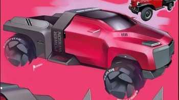 Futuristic Ram Truck Design. (Michael Stanfel).
