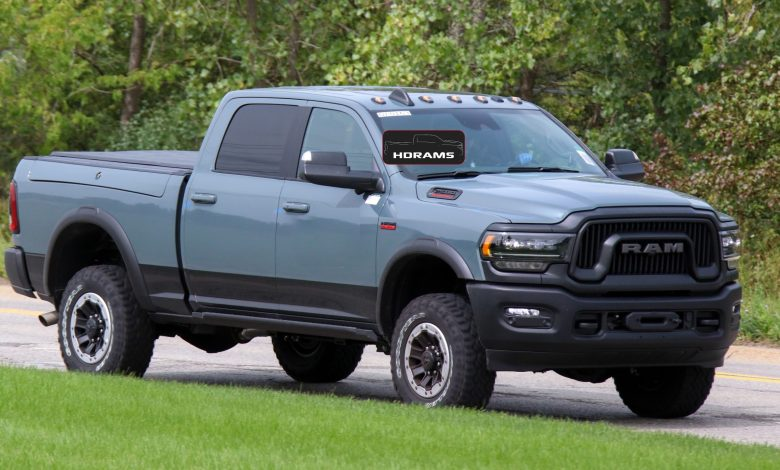 Photo of CAUGHT: 2021 Ram 2500 Power Wagon 75th Anniversary Edition: