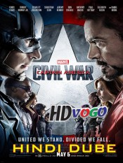 Captain America Civil War 2016 in HD Hindi Full Movie