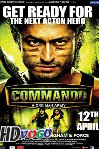 Commando 2013 in HD Hindi Full Movie