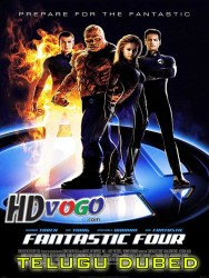 Fantastic Four 2005 in HD Telugu Dubbed Full Movie