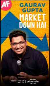 Gaurav Gupta: Market Down Hai (2021) Hindi Comedy Amazon Prime
