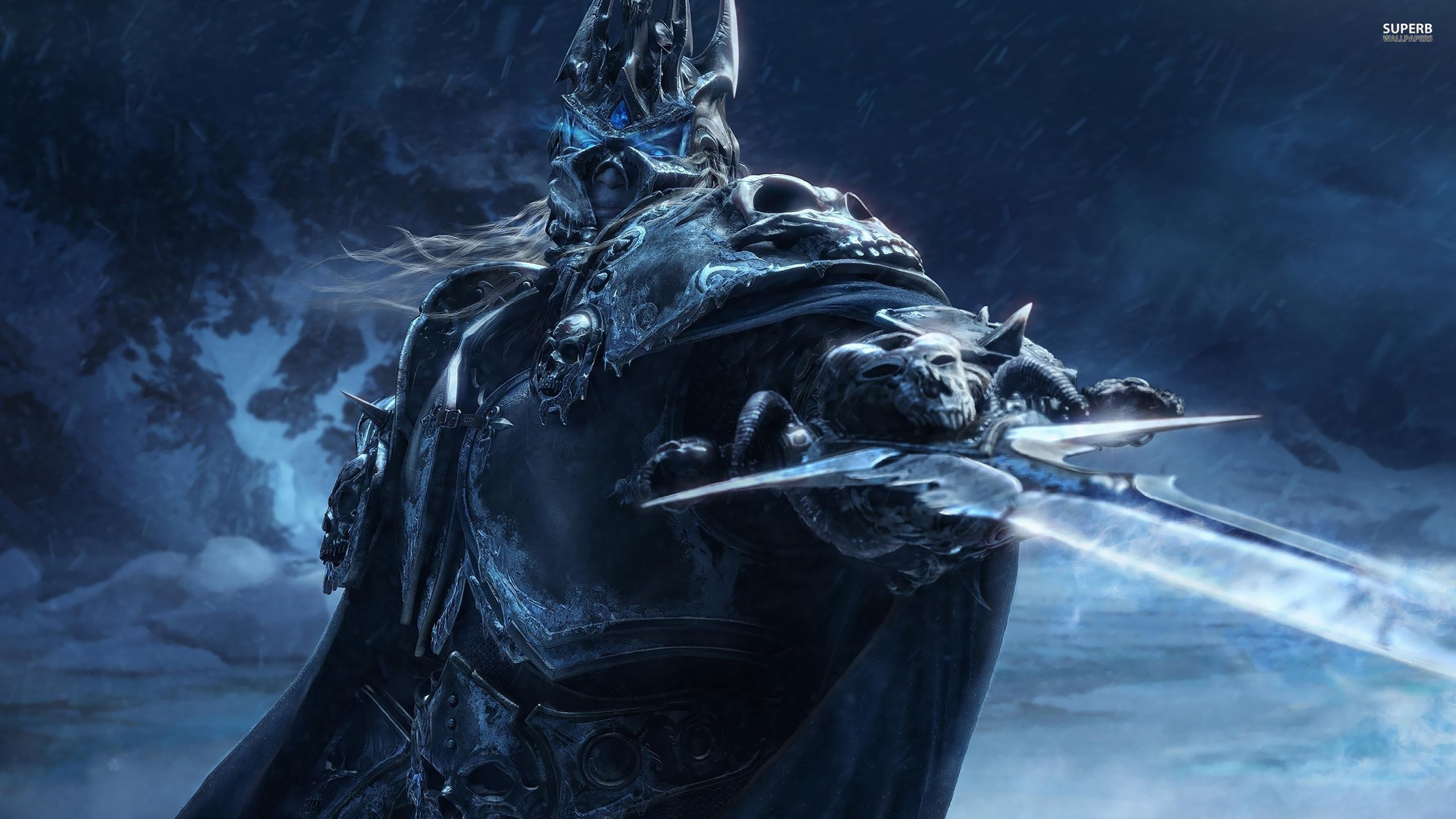 Wallpaper Wrath King Lich Wow