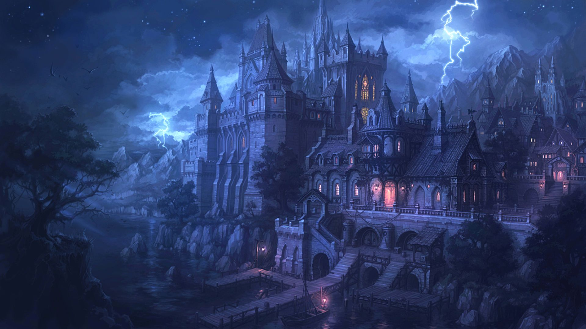 castle wallpapers, pictures, images