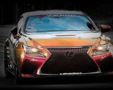 Lexus F type