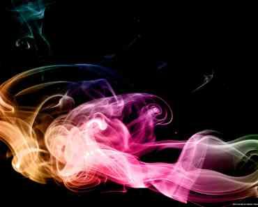 Rainbow Smoke Art 5