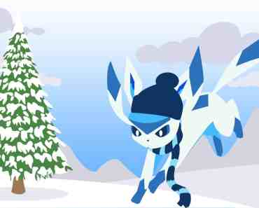 Glaceon in Winter