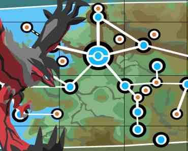 Yveltal & Kalos Map