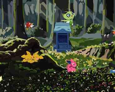 Ilex Forest & Celebi Shrine