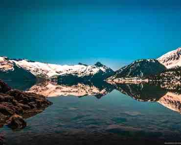 Turquoise Glacier Lake