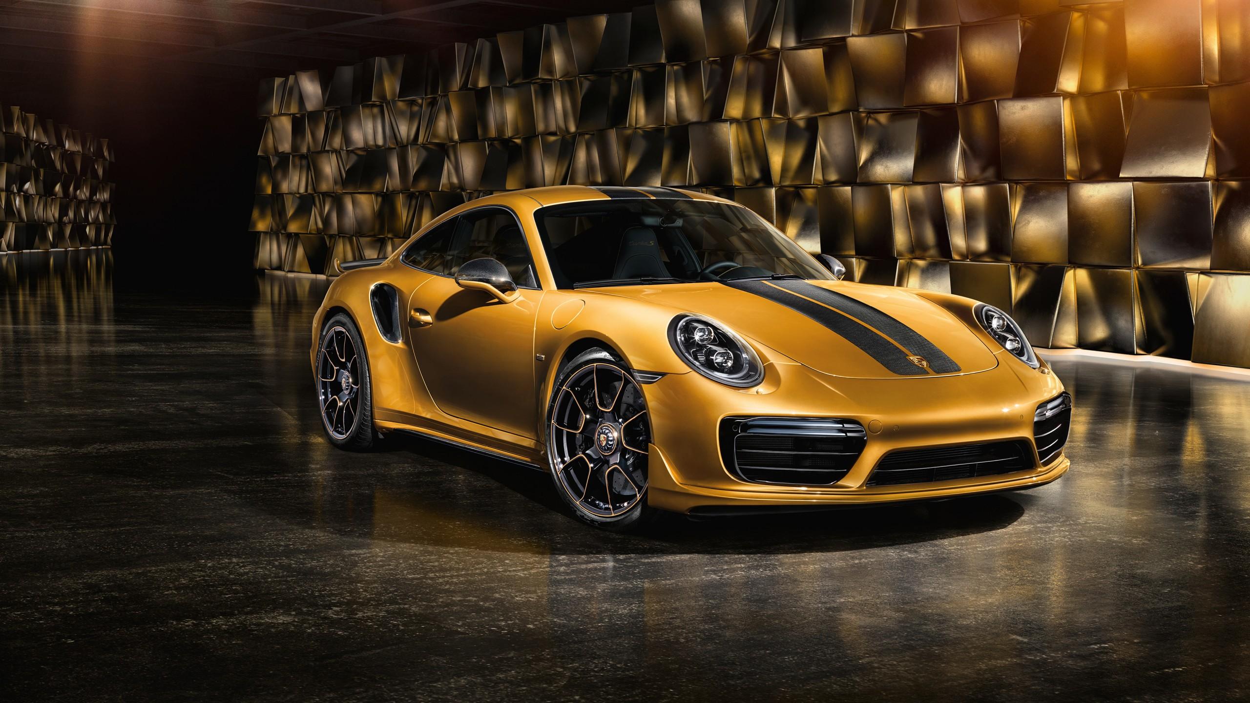 2017 Porsche 911 Turbo S Exclusive Series 4K Wallpapers
