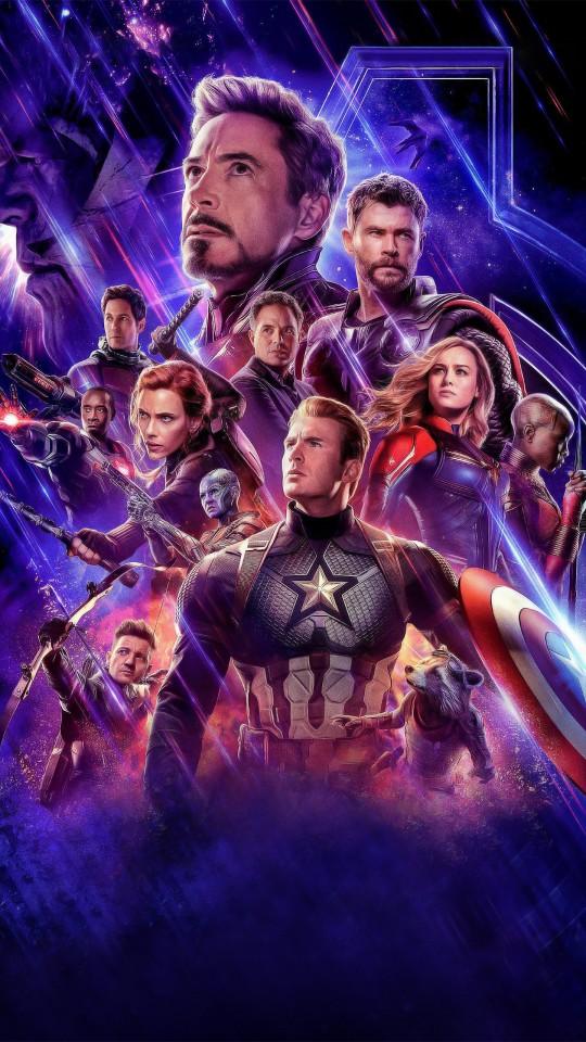 Avengers Endgame Official Poster 4K Wallpapers HD