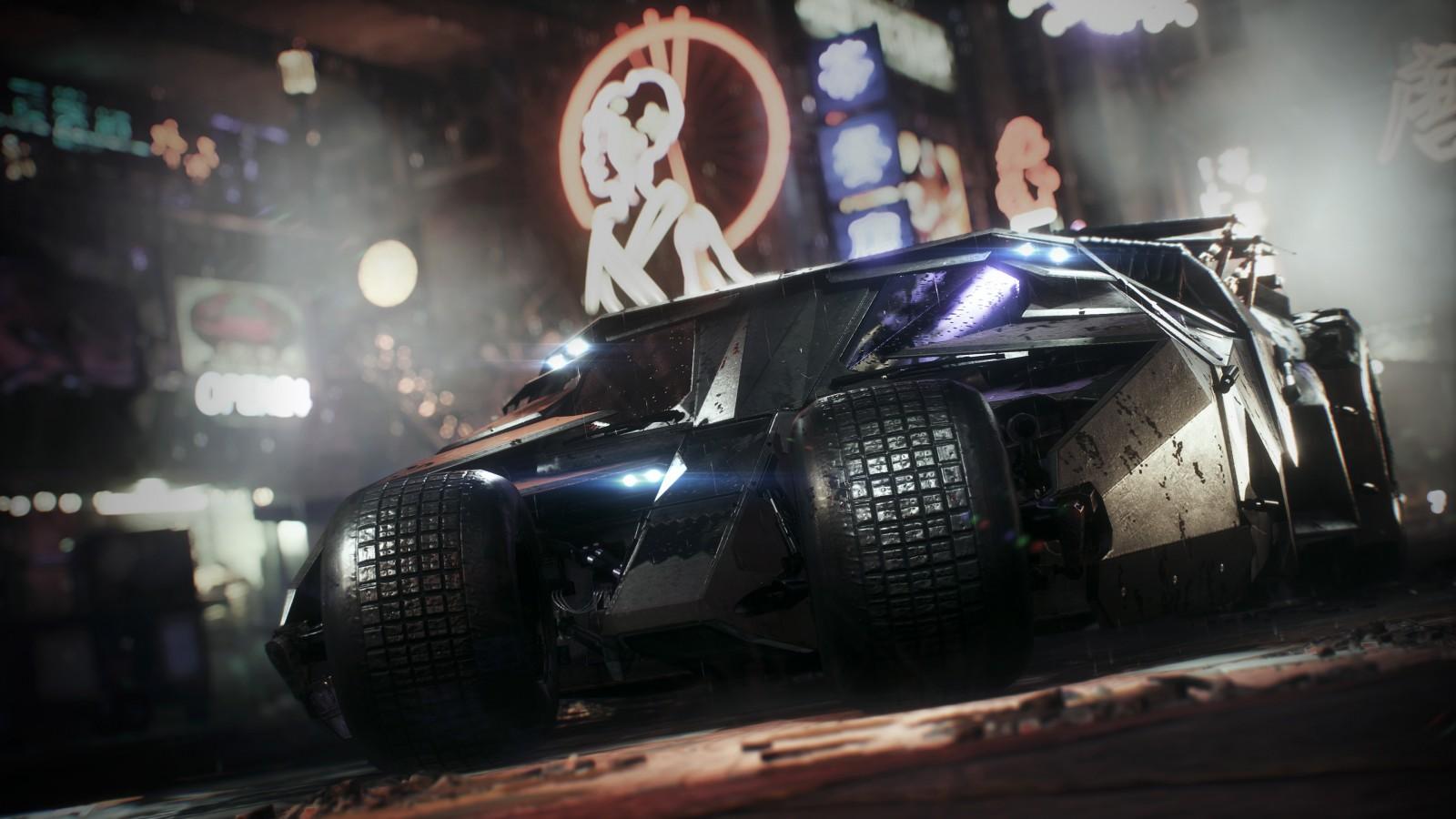 Batman Tumbler Batmobile 4K Wallpapers HD Wallpapers