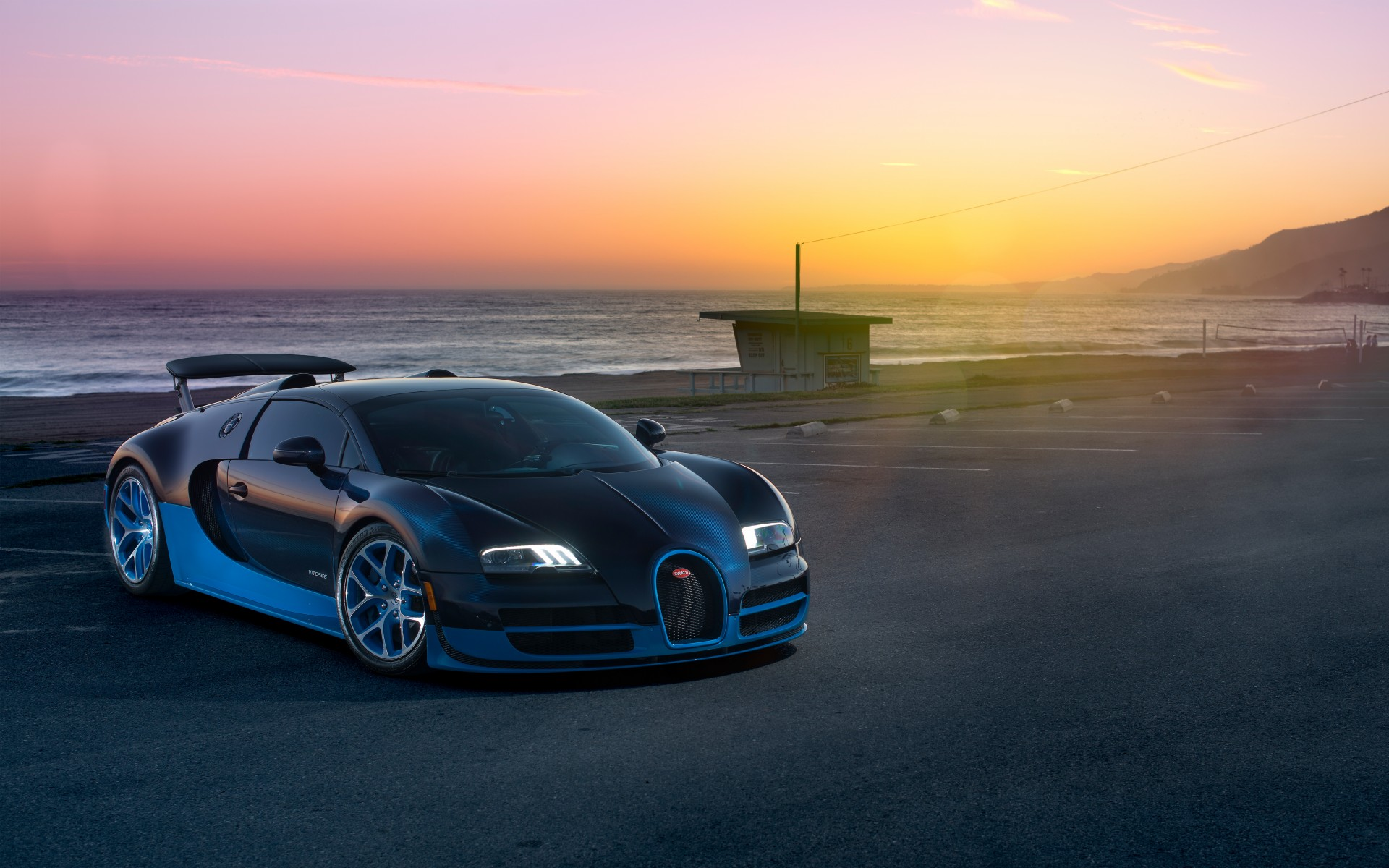 Bugatti Veyron Grand Sport Vitesse 5K Wallpapers HD