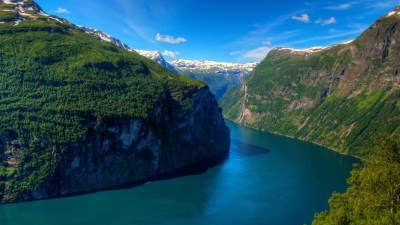 Geirangerfjord Fjord Norway Wallpapers | HD Wallpapers ...