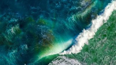 Ocean Waves iOS Stock 5K Wallpapers | HD Wallpapers | ID ...