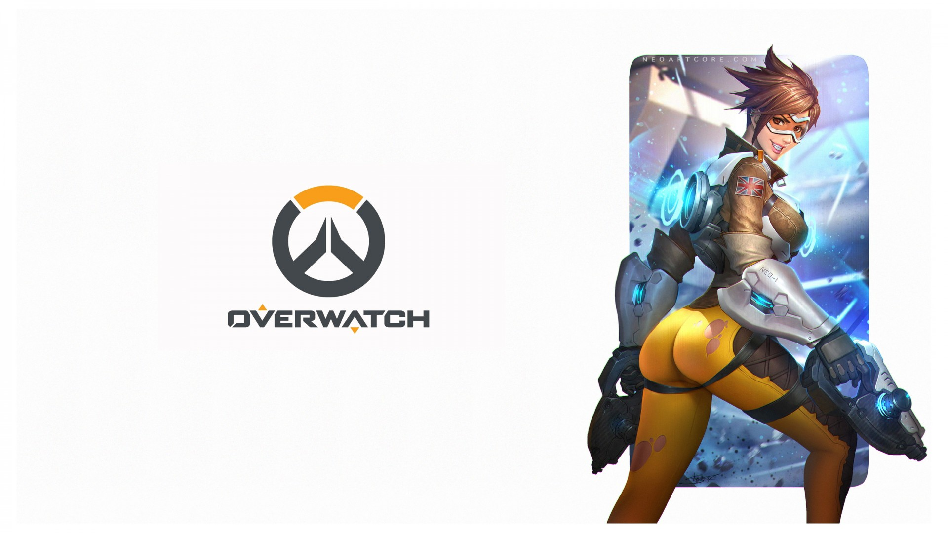 Overwatch Tracer Artwork Wallpapers HD Wallpapers ID 17879