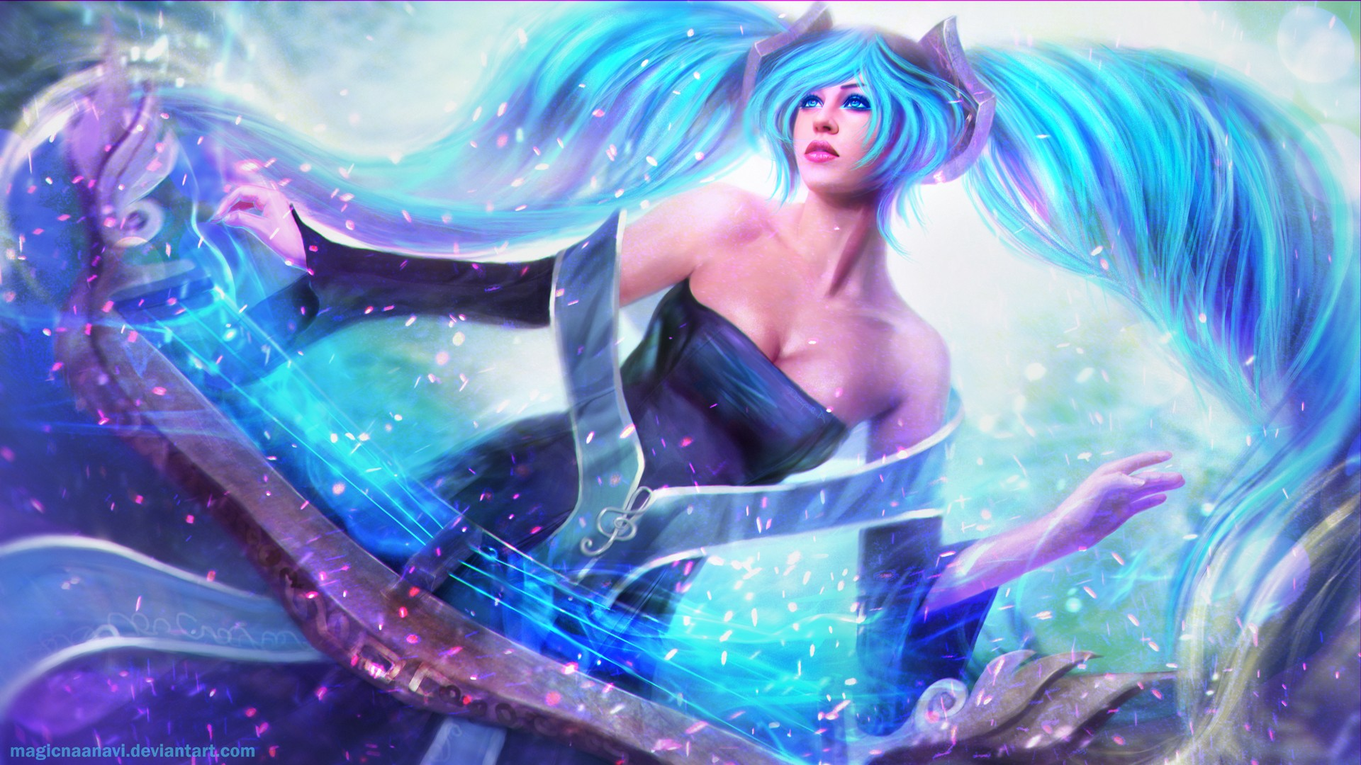 Sona League Of Legends Wallpapers HD Wallpapers ID 13232