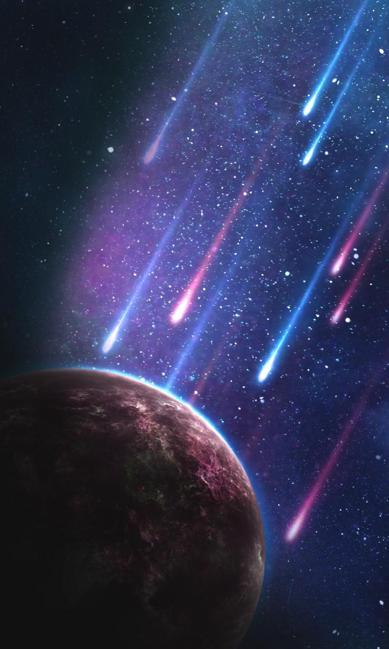 Space Meteorites 4k Wallpapers Hd Wallpapers Id 21406