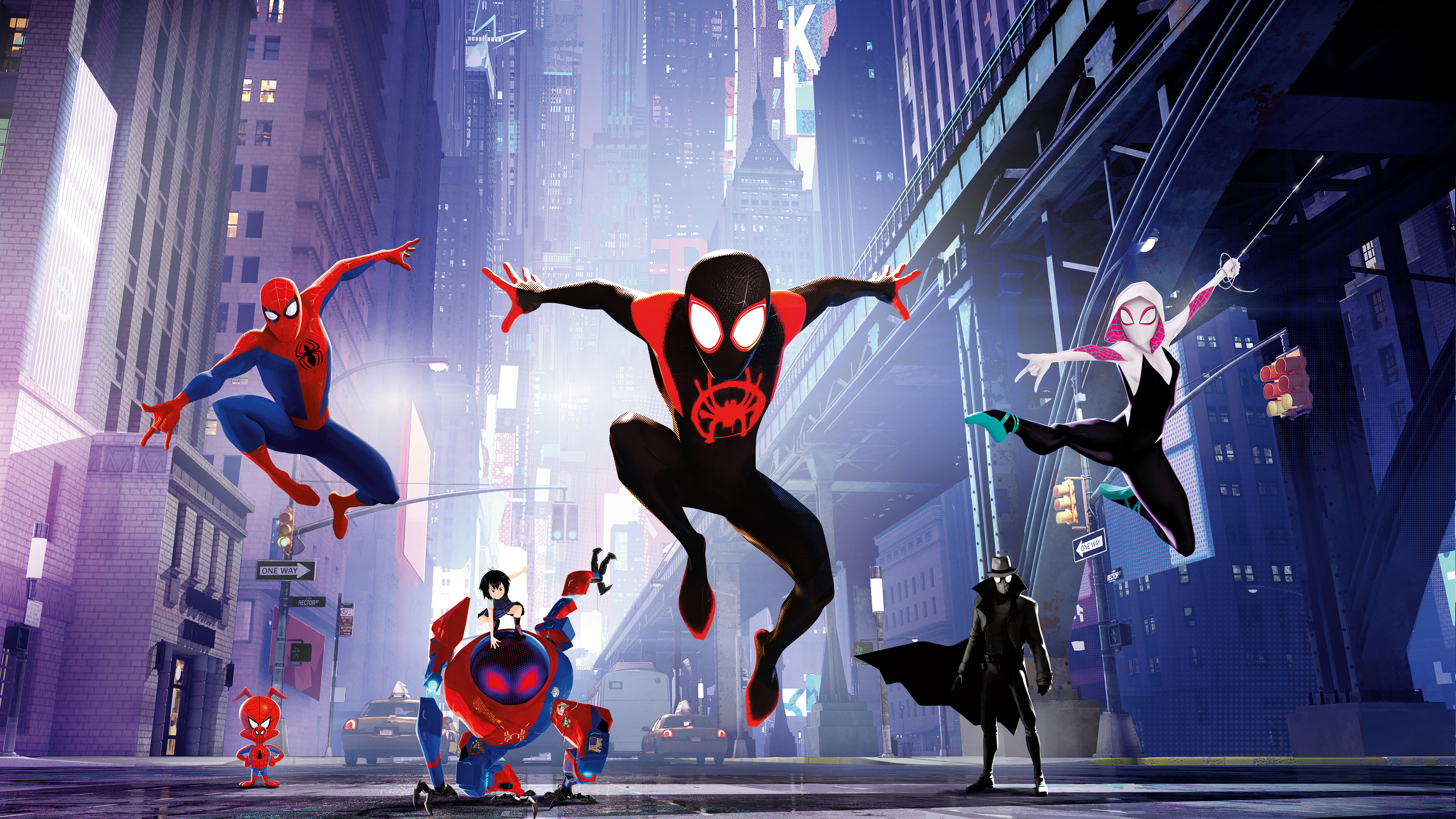 Spider Man Into The Spider Verse 4k 8k Wallpapers Hd Wallpapers Id 27749
