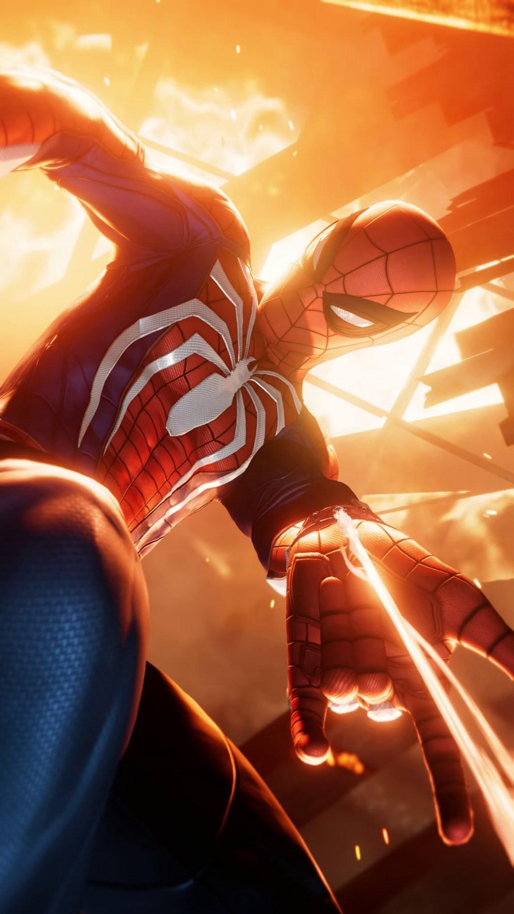 Spider Man Ps4 Wallpaper Iphone X Walljdi Org