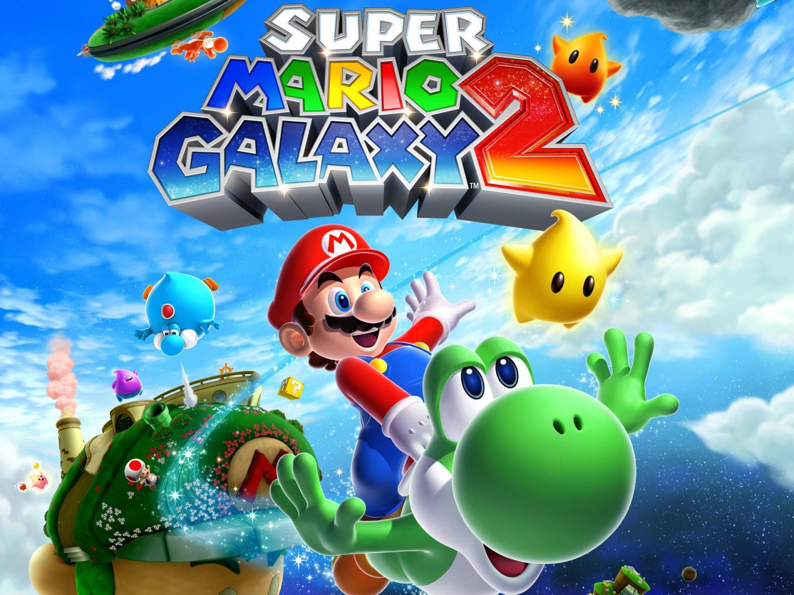 Super Mario Galaxy 2 Wallpapers HD Wallpapers ID 8671