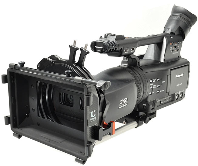 6873a7d53 Those who already have the LightWeight Support for the Panasonic HVX200 can  continue using it. It also fits on the Sony PMW-F3 (version shown in 2010)  and ...