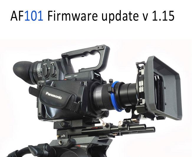 HD Warrior » Blog Archiv » Panasonic AF101 Firmware update v1 15