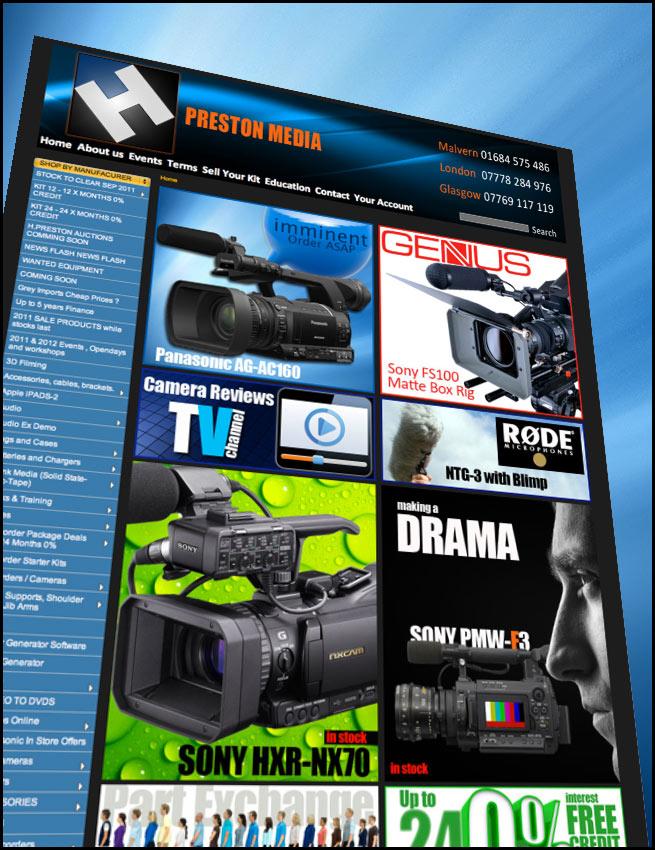 HD Warrior » Blog Archiv » H Preston Media gets a face lift