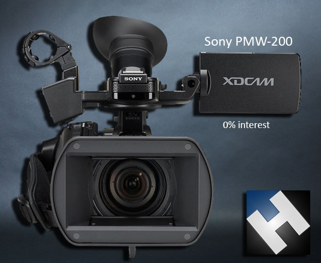 HD Warrior » Blog Archiv » 0% Interest on the new Sony PMW-200 at H Preston  Media