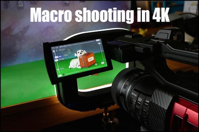 Macro shooting