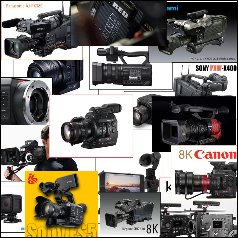 18 New cameras
