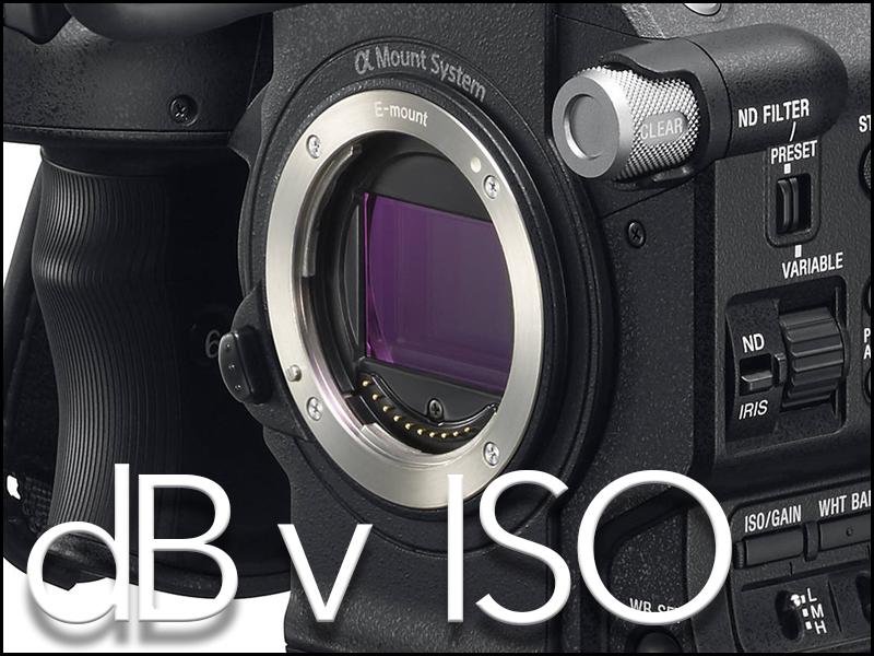 dB v ISO