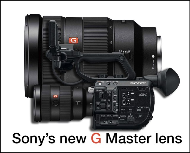 Sony G Master TITLE