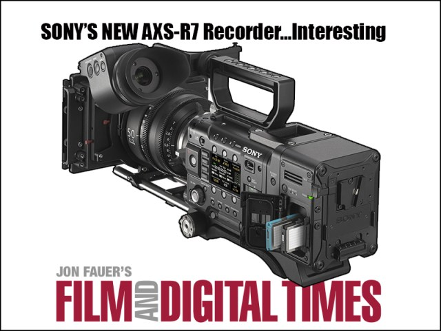 Sonys RAW recorder