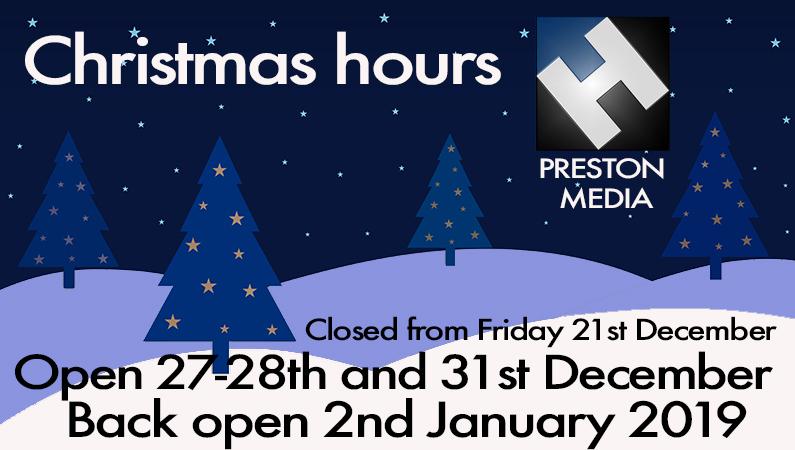 "HD Warrior » Blog Archiv » Advert…H.Preston Media ""Christmas hours"""