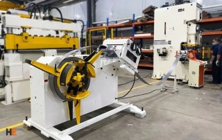 HE furniture metal stamping line for IKEA metal parts producing