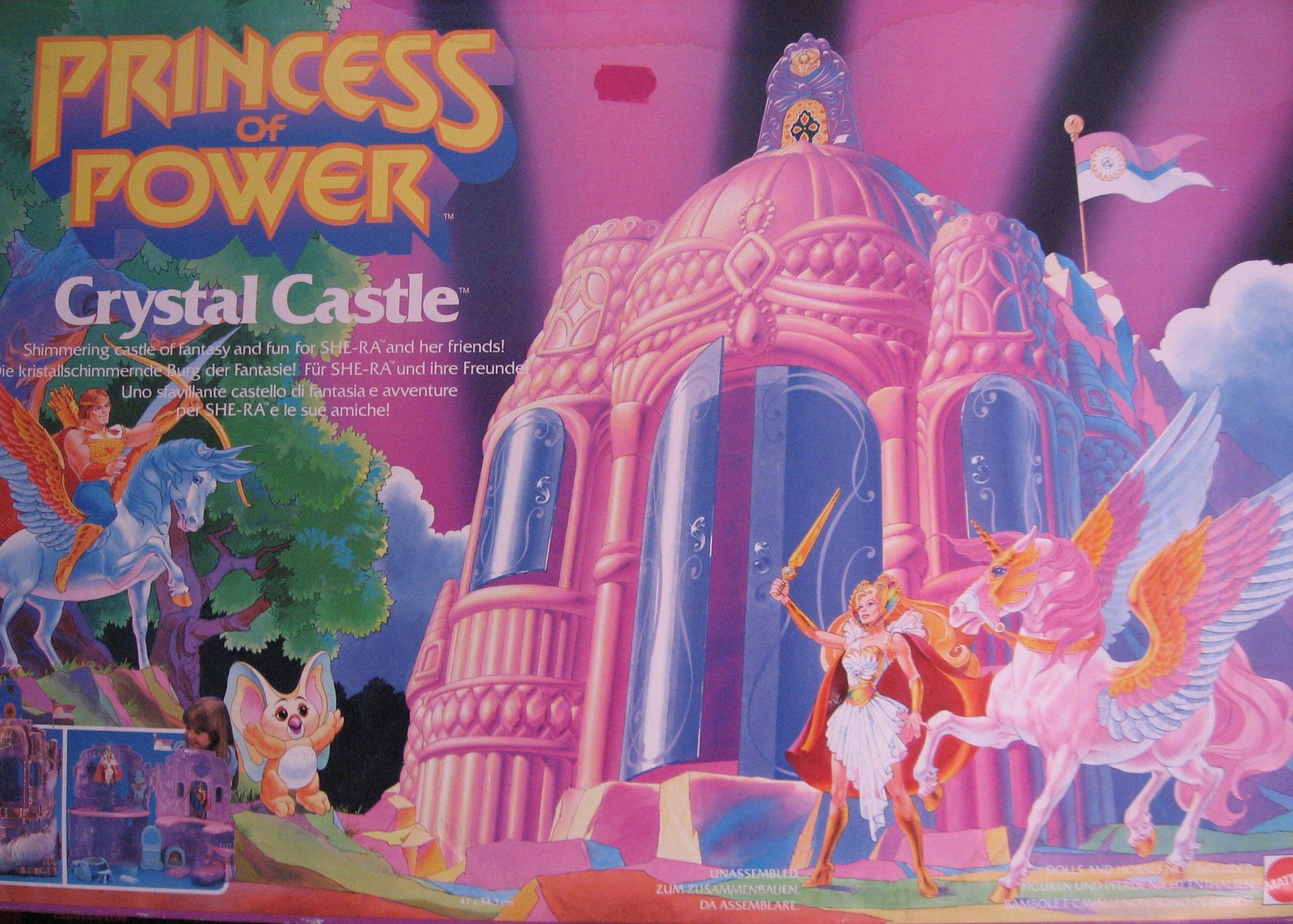 He Man Gt Toys Gt Princess Of Power Gt Crystal Castle