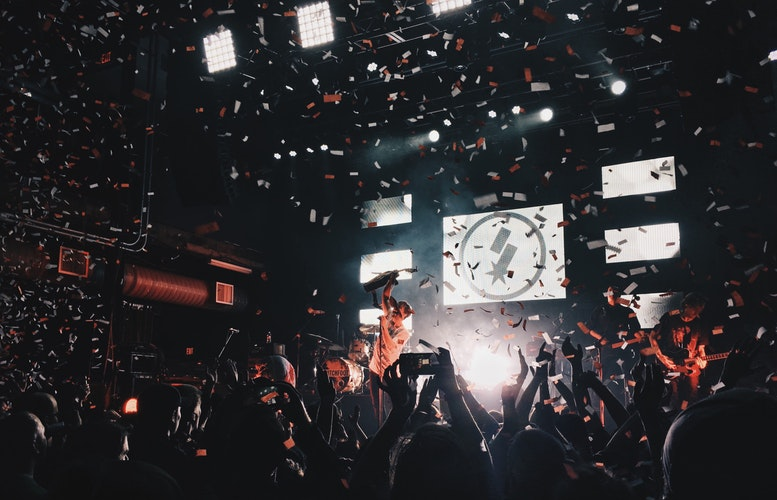 marketing your venue at a gig