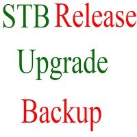 STB Release Upgrade STB Release Backup Via RS 232 Port