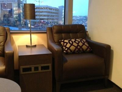 BA Edinburgh lounge 1 review